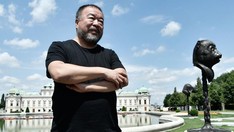 Ai Weiwei. Beeld afp
