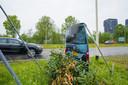 Het nepflitsbusje in Breda.