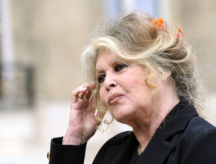 Brigitte Bardot vierde haar verjaardag in intieme kring