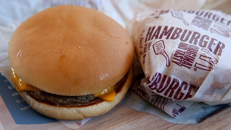 Een hamburger van McDonalds is vanaf deze week glutenvrij te krijgen. Beeld anp