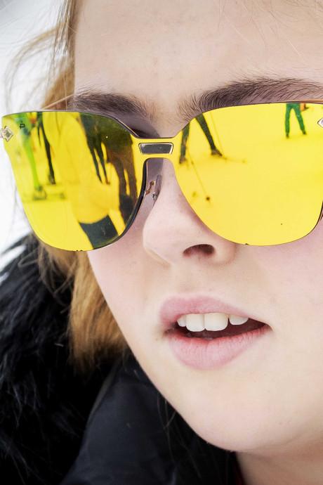 Hippe Hollywood-zonnebril prinses Amalia vliegt de winkels uit