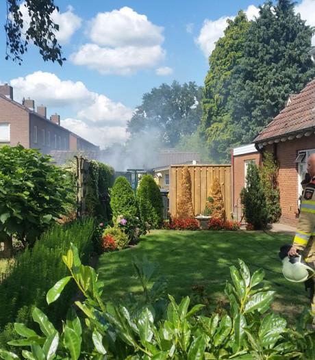 Asbest vrijgekomen bij schuurbrand in Hoonhorst