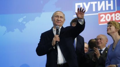 Poetin haalt beste score ooit