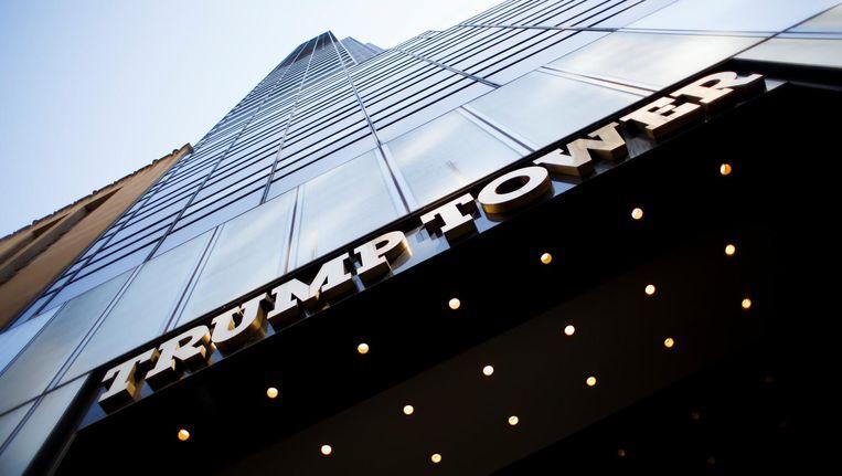 De Trump Tower in New York. Beeld EPA