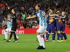 Arbiter gaat lelijk in de fout bij goal FC Barcelona