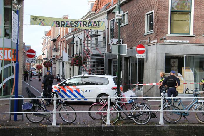 Schietpartij Breestraat Delft.
