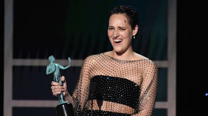 Fantaseren over Obama en straffe vrouwenrollen: wie is Phoebe Waller-Bridge, de 'leading lady' van dit awardseizoen?