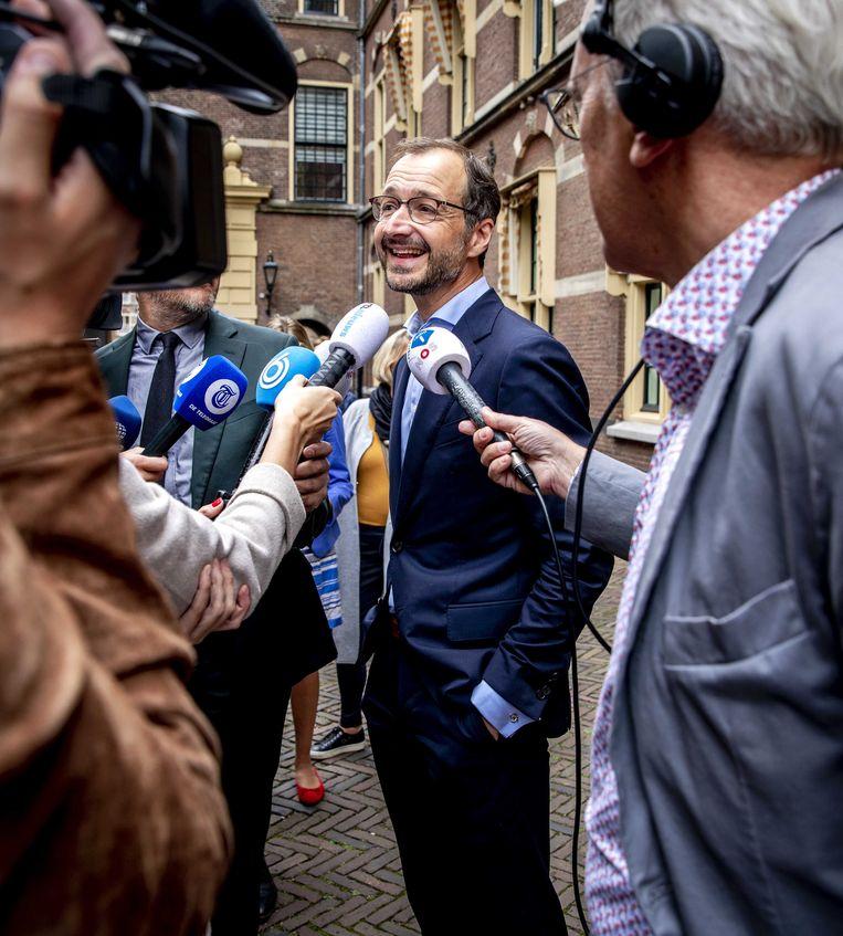 'Ik denk dat Nederlanders allemaal redelijk wensen hebben,' aldus Eric Wiebes. Beeld ANP