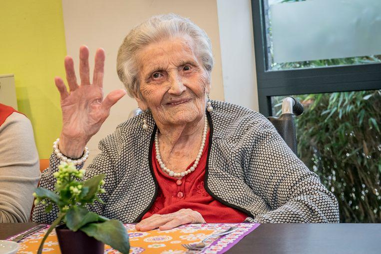 Julia Mistiaen (104) is het voorbije weekend in WZC Maria Rustoord overleden.