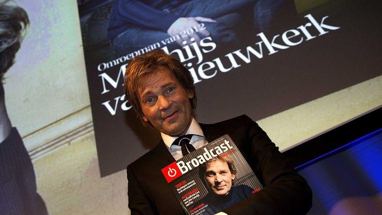 Omroepman van 2012: Matthijs van Nieuwkerk. Beeld ANP Kippa