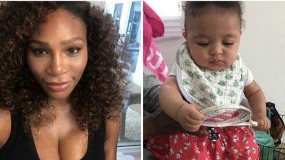 Serena Williams kent grootste bedreiging voor haar comeback: dochter Alexis