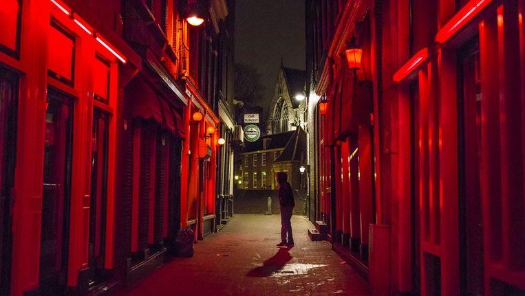 De Wallen in Amsterdam Beeld Marc Driessen