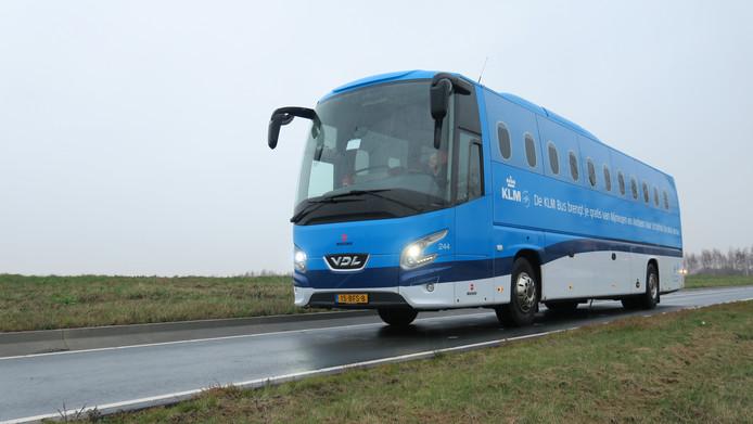 Een KLM bus van Munckhof.