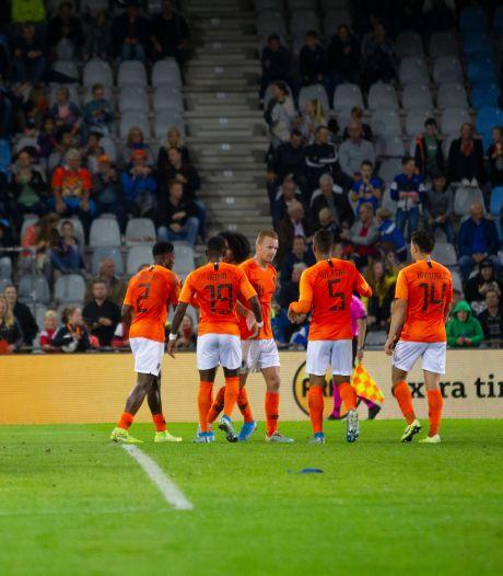 Jong Oranje neemt voorlopig afscheid van De Vijverberg