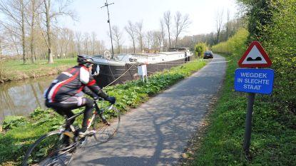 Verschillende meldingen van fietser met 'attributen' bloot op jaagpad langs Dender