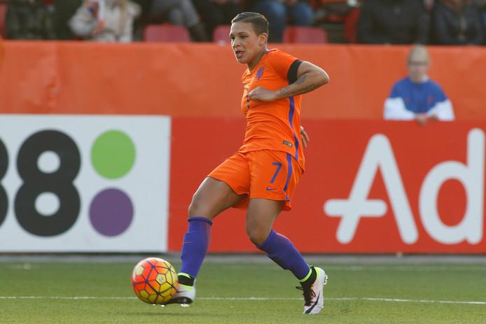 Shanice van der Sanden.