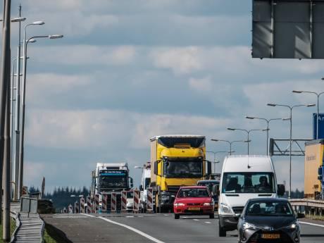 Controles op A12 tussen Reeuwijk en Gouwe-Aquaduct gaan door