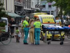 Meisje komt hard ten val na lancering bagagedrager in Rijnstraat