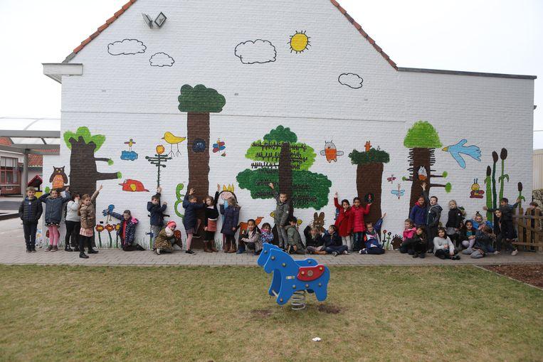 De MUURKUUR-muur in Klim-Op.