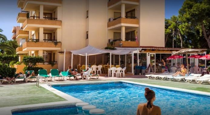 La résidence Arlanza à Ibiza