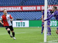 Feyenoord sluit zware week af met derde zege op een rij