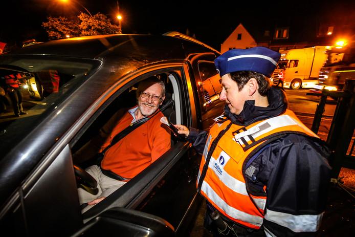 Deze bestuurder blies gelukkig 'safe'