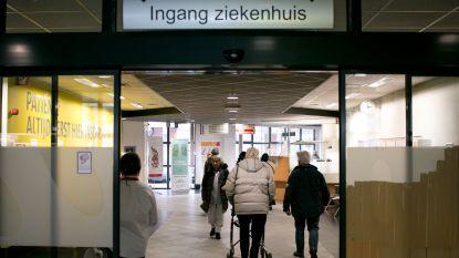 Update AZ Nikolaas: vrijdag weer 25 patiënten op COVID-19-afdeling, één overlijden