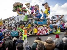 Route en opstelling carnavalsoptocht Albergen aangepast