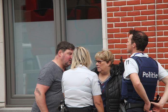 De woning van Marnix Leroy en Nadine Dedeyster liep ook schade op.