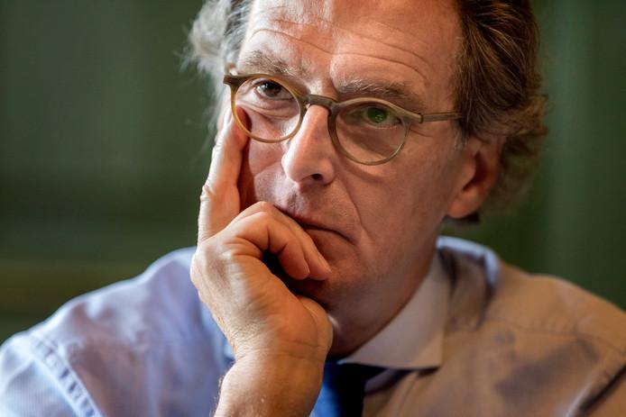 Oud-burgemeester Ton Rombouts