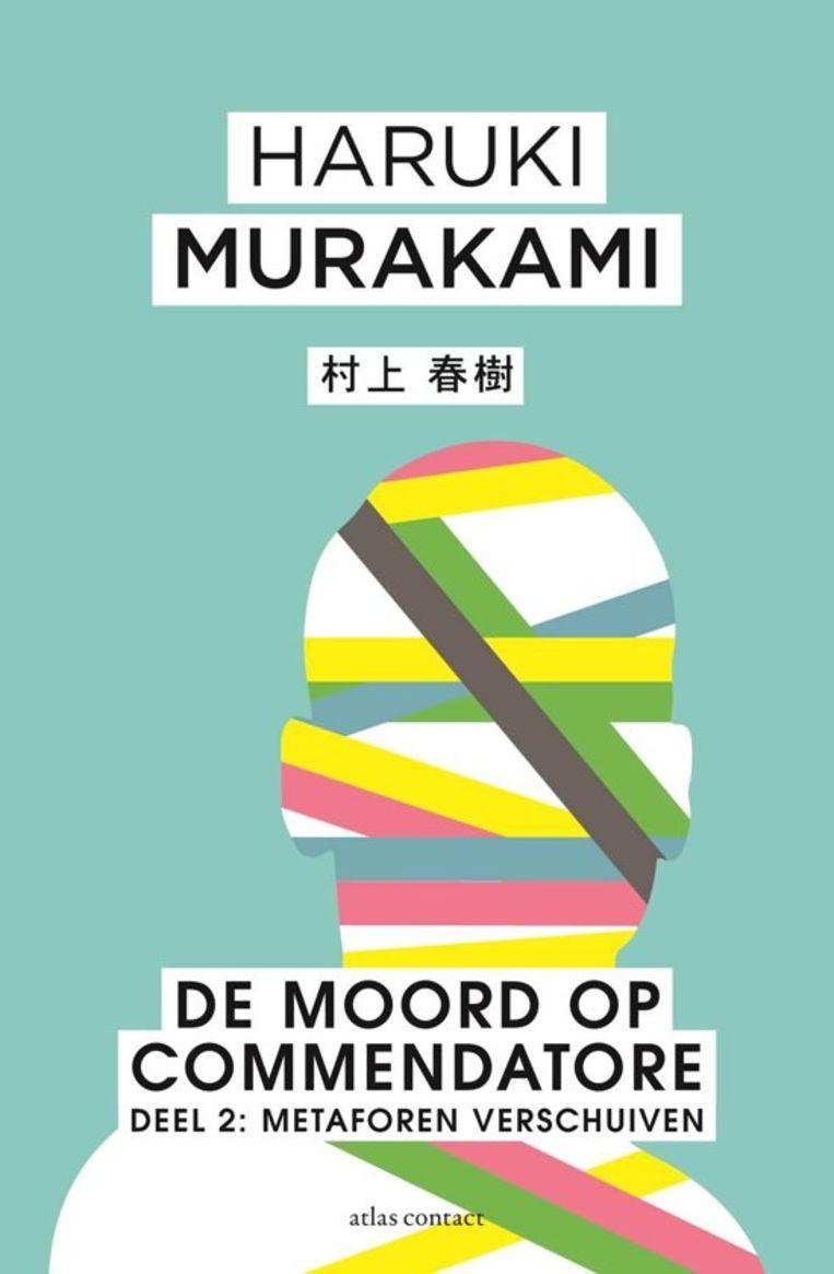 De moord op Commendatore, deel 2, Haruki Murakami. Ontwerp: Vruchtvlees Beeld null