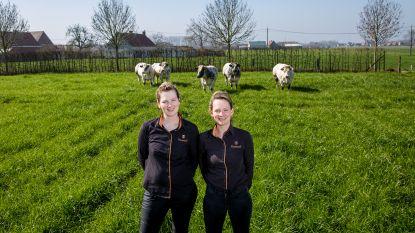 Evelyn en Celine Vanspeybrouck van Hoeveslagerij Mandeldaele kanshebbers voor West-Vlaams ambassadeurschap korte keten
