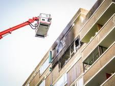 Grote brand in flat in Eindhoven: vijf appartementen beschadigd