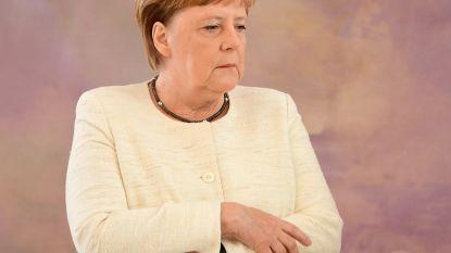 Merkel beeft opnieuw