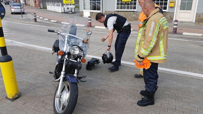 Motorrijder gewond bij botsing met vrachtwagen