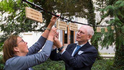 Herman Van Rompuy peter van nieuwe haikuboom