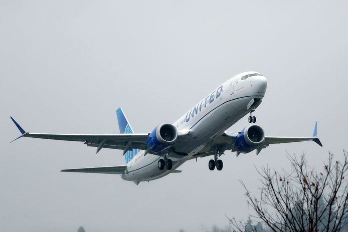 Boeing 737 Max de United Airlines