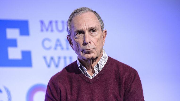 Michael Bloomberg Beeld anp