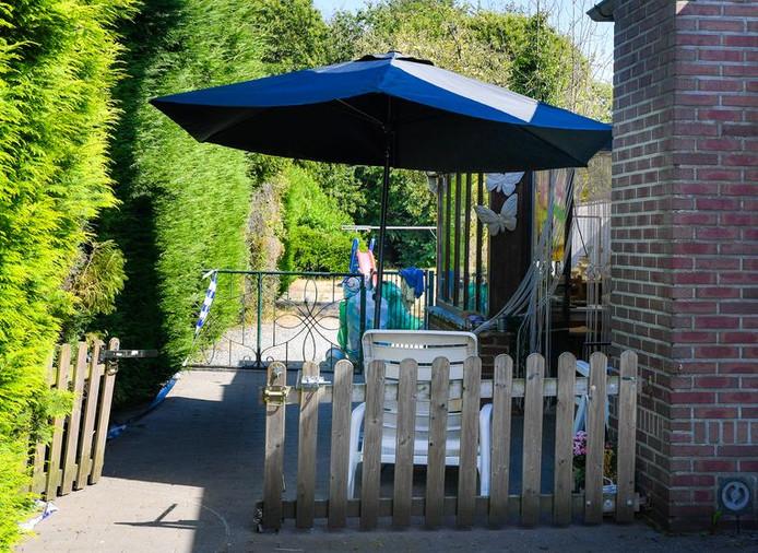 La maison de Mia Tielens, où elle allait profiter de son premier été de pensionnée