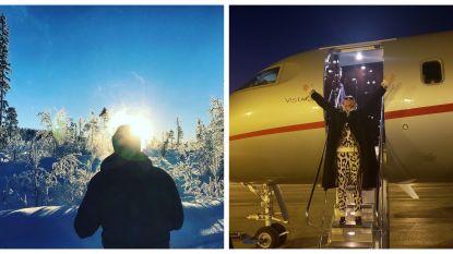 SHOWBITS. Celine Dion bezoekt Parijs in pyjama en Bartel Van Riet heeft het pas echt koud