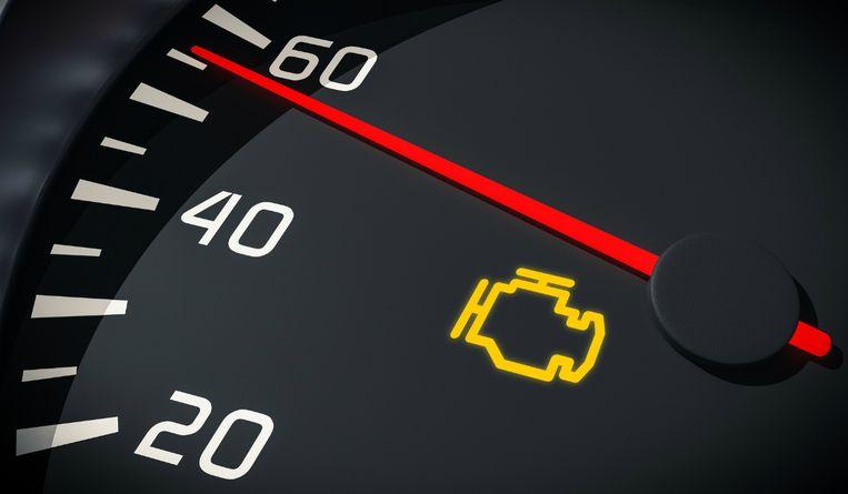 Dit is het meest gevreesde waarschuwingslampje in een auto.