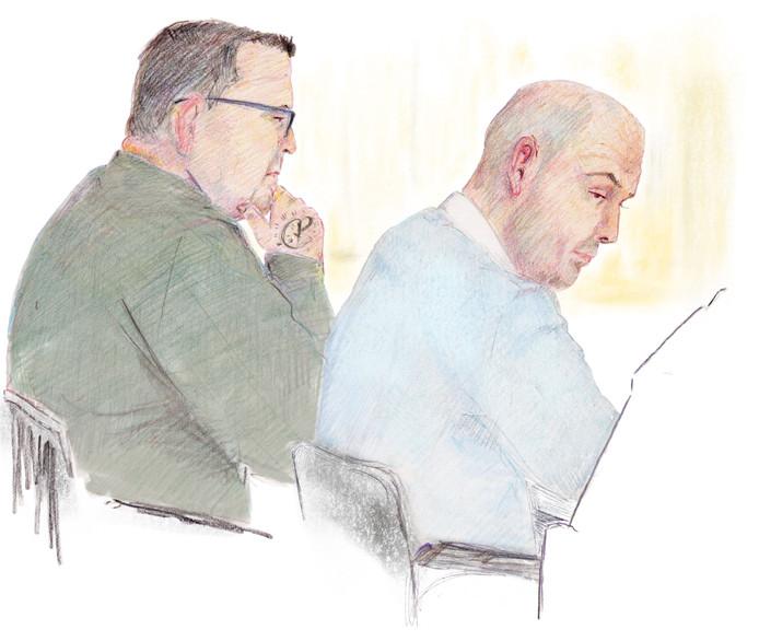 De mannen die verdacht worden van dubbele moord in Nijmegen.