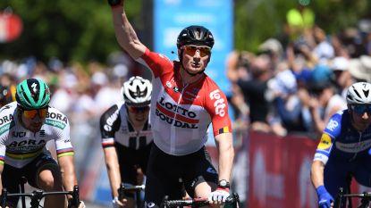 André Greipel boekt 17de etappezege in Tour Down Under