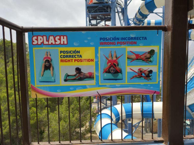 Het waterpark stelt dat Briffaut de veiligheidsvoorschrifen negeerde.