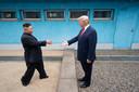 De historische ontmoeting met Kim Jong-un in 2019.