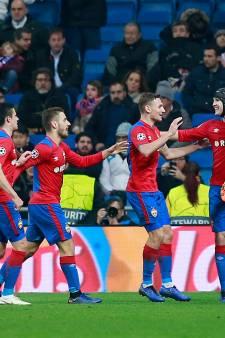 Inspiratieloos Real Madrid roemloos onderuit tegen CSKA Moskou