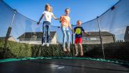 Iedereen staat te springen voor trampoline