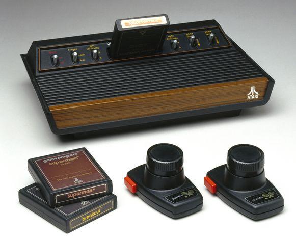 De Atari Video Computer System.