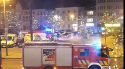 Brandweer moet tussenkomen op Ledebergplein