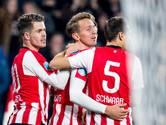 Kwetsbaar PSV met veel mazzel langs FC Twente